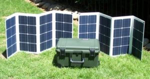 Portable Collapsible Solar Panels
