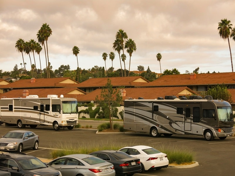 Can You Park Your RV on the Street or at Truck Stops?