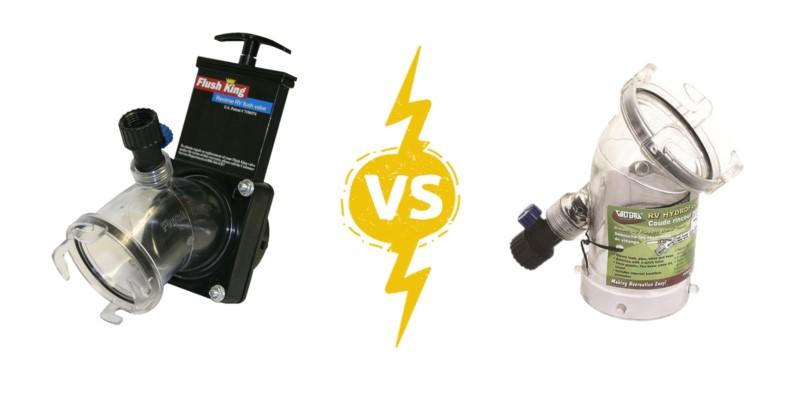 RV Flushing Systems: Flush King vs. RV Hydroflush