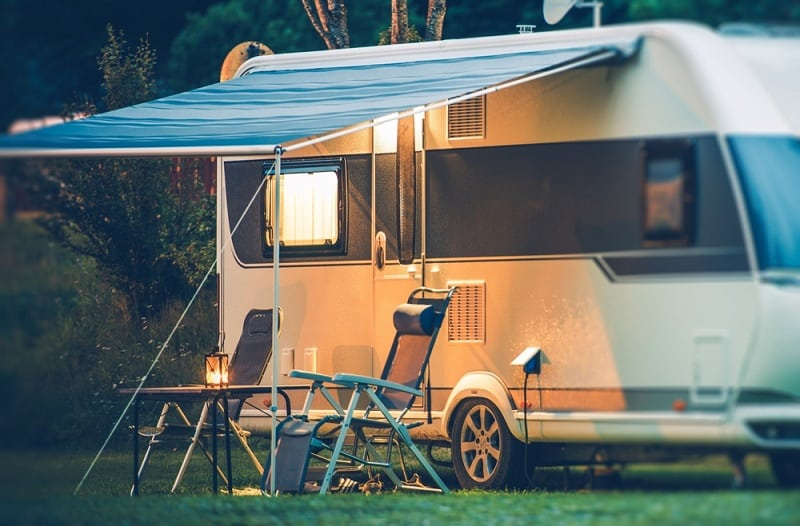 How an RV Slide-Out Works and How RV Awnings Work