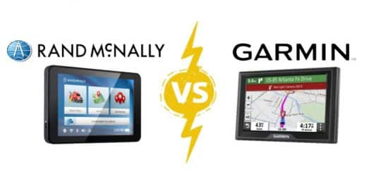 RV GPS Comparison: Rand McNally vs. Garmin