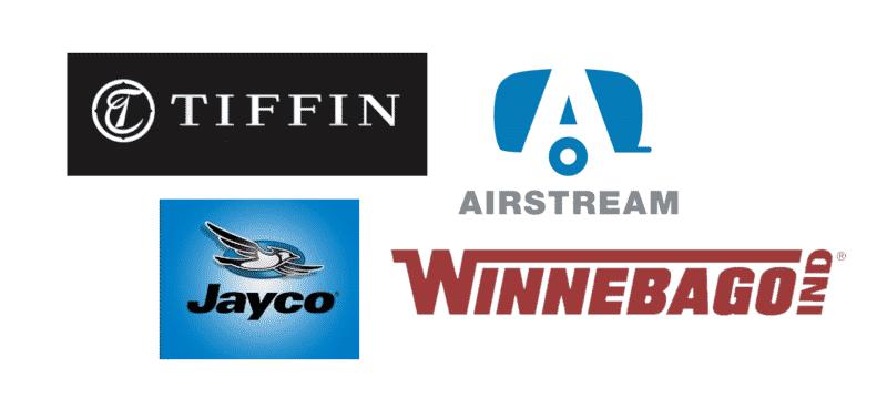 Top 4 Recreational Vehicle (RV) Brands