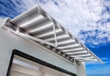 RV Awnings with a Wind Sensor