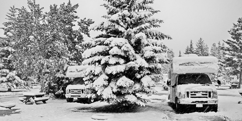 Your RV and a One Night Freeze