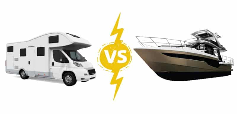 Deciding on Which to Buy: RV vs Boat
