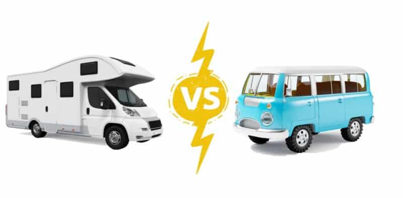 Travel Transportation: RV vs Campervan