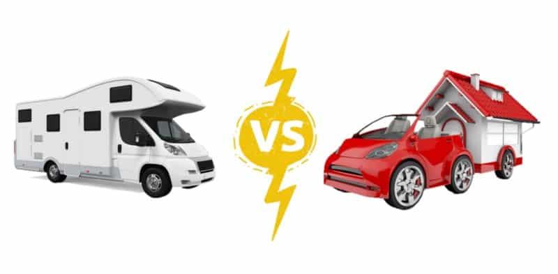 RV vs Mobile Home