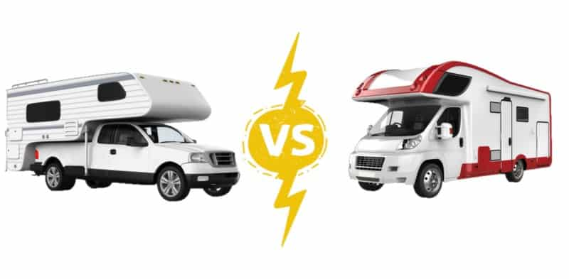 Differences Between an RV and a Motorhome