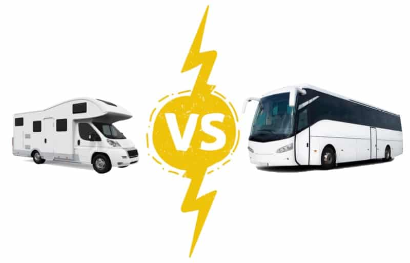 RV vs Tour Bus: Which is Better?