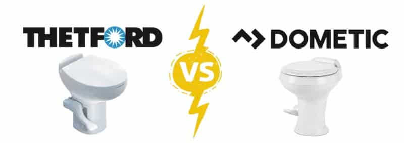 RV Toilet Brands Comparison: Thetford vs Dometic