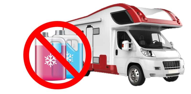 Winterizing Your RV Without Antifreeze