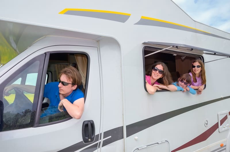 How Many People Can Ride in an RV?
