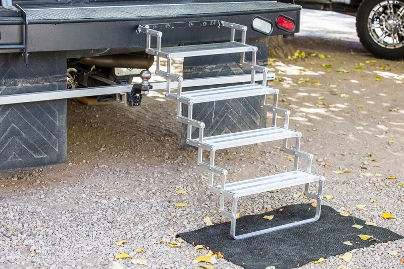 How To Manually Retract Your RV Steps