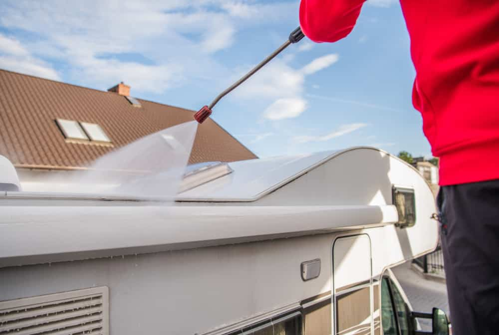 Can You Pressure Wash an RV Rubber Roof?