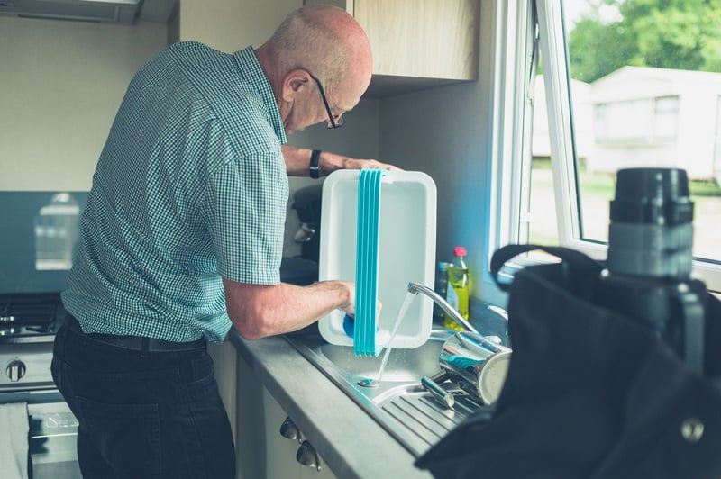 What is Galley Water in a Camper?
