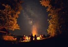 camping 50 degrees night