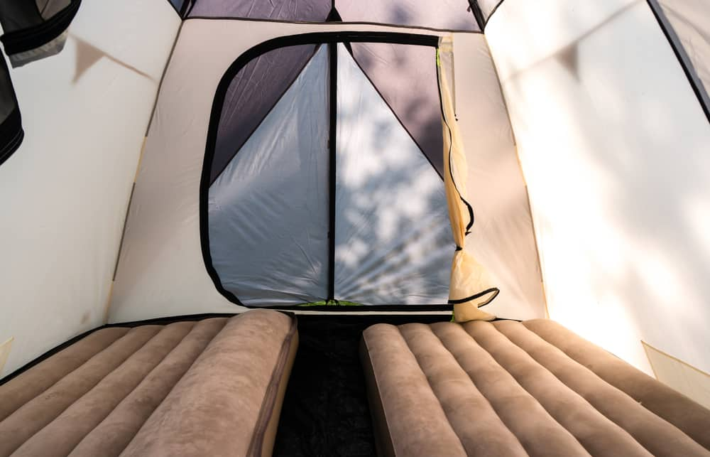 camping without air mattress