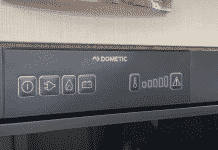 dometic camper fridge not working