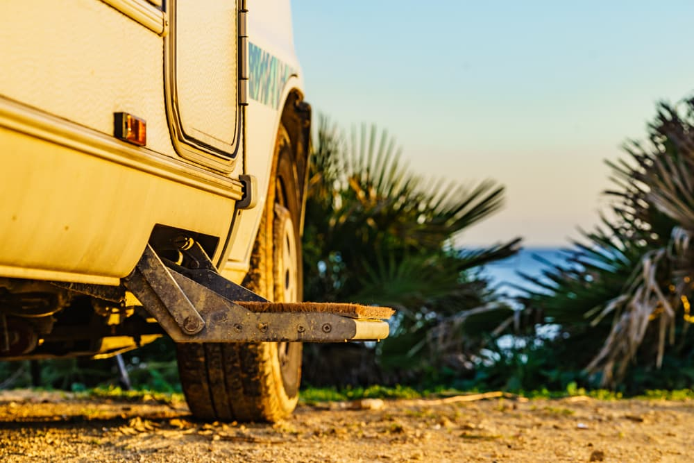 motorhome steps will not retract