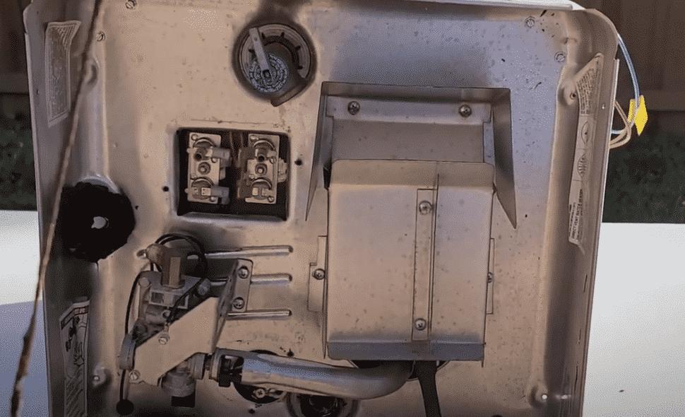 suburban rv hot water heater won't light