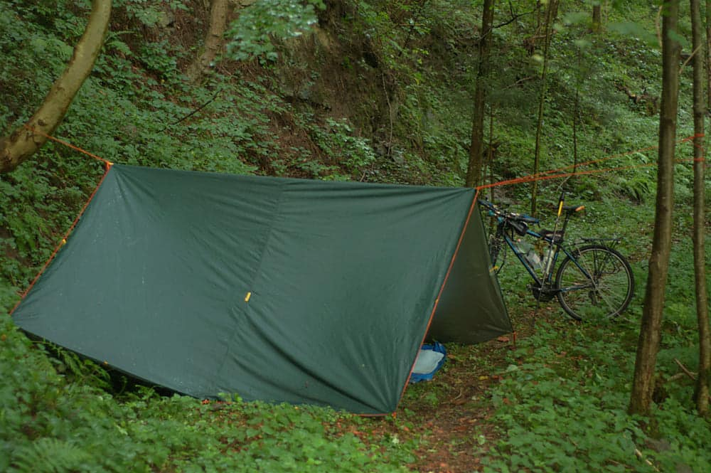 what size tarp for camping