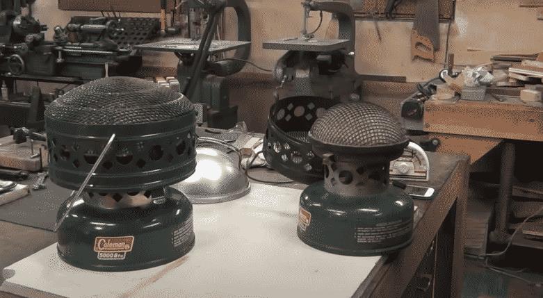 coleman catalytic heater wick fix