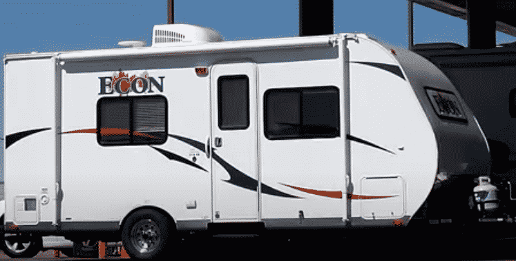 econ travel trailer review