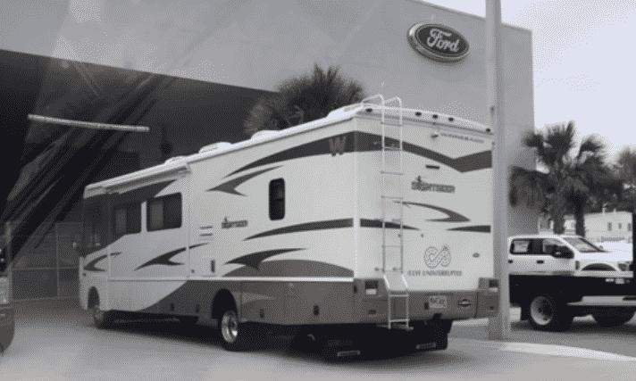 ford triton v10 motorhome review