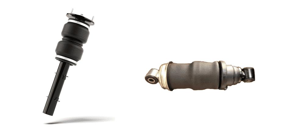 air shocks vs air bags
