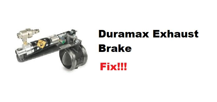 duramax exhaust brake review