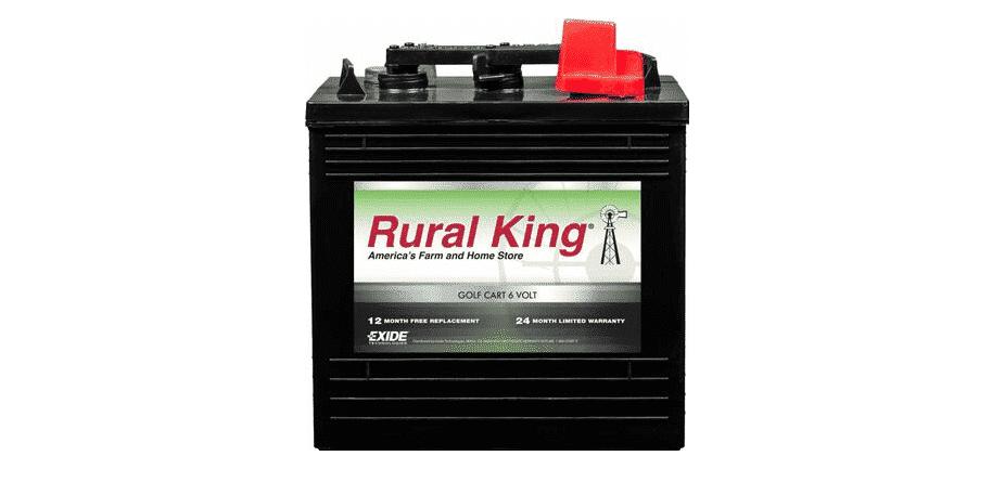 rural king golf cart battery review