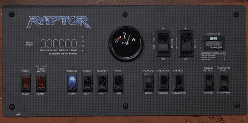 rv monitor panel troubleshooting