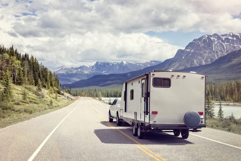 convert truck camper to trailer