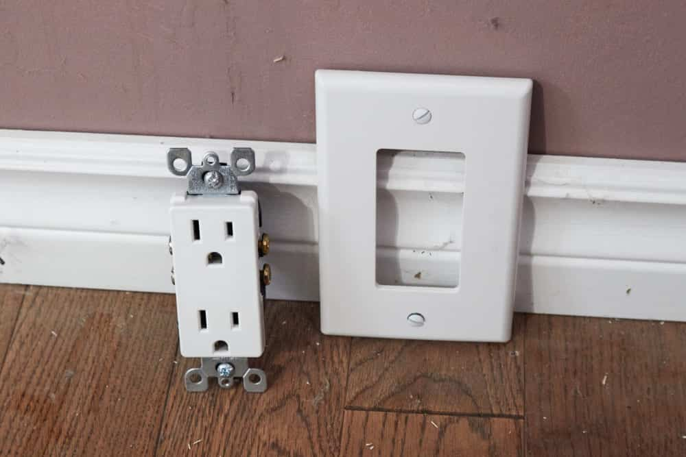 how to replace self contained receptacle