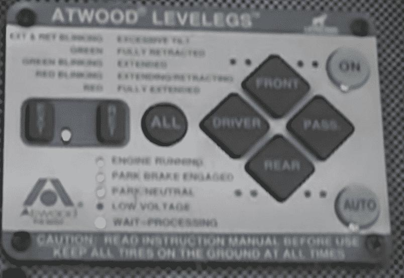 atwood levelegs troubleshooting