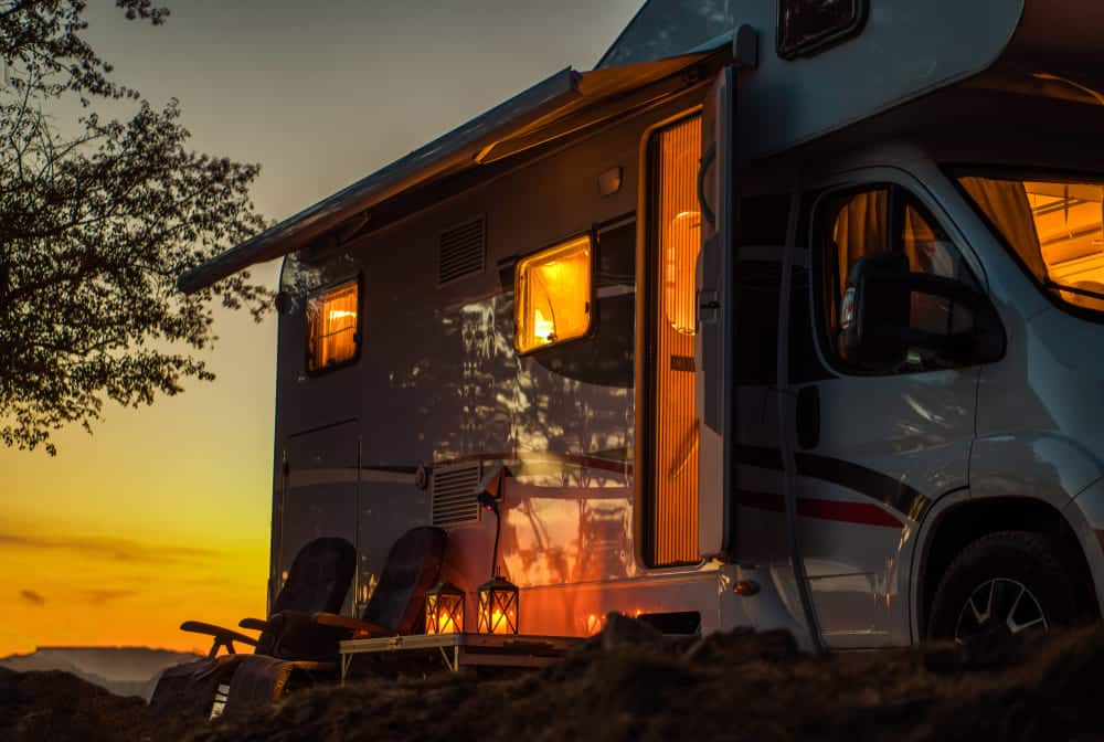 how to flush antifreeze from camper