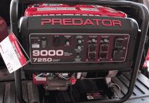 predator generator break in