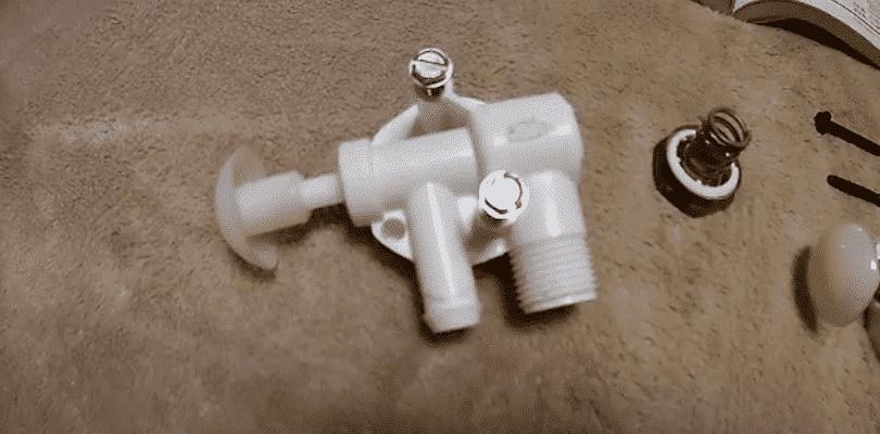rv toilet valve won't open