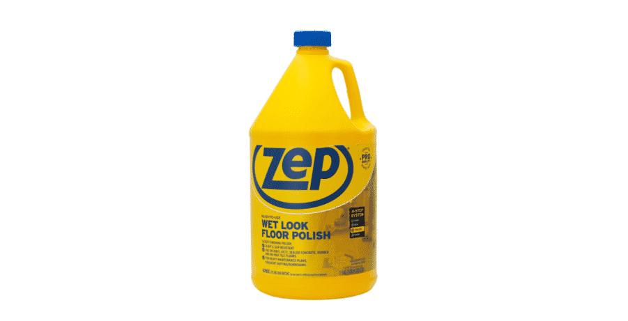 zep floor polish on rv