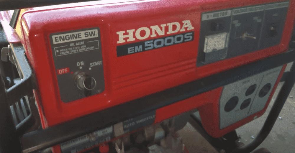 honda em5000s generator troubleshooting