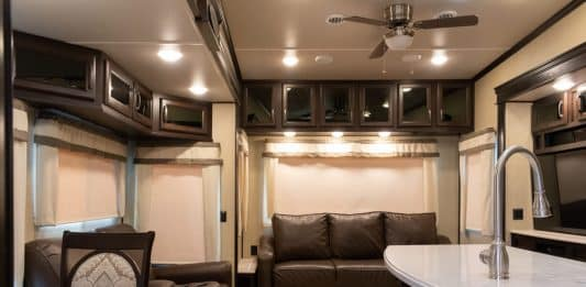how to recover rv jack knife sofa