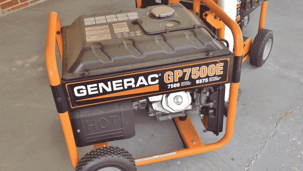 generac generator will not shut off