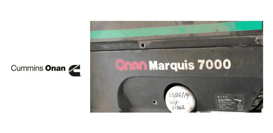 onan marquis 7000 troubleshooting