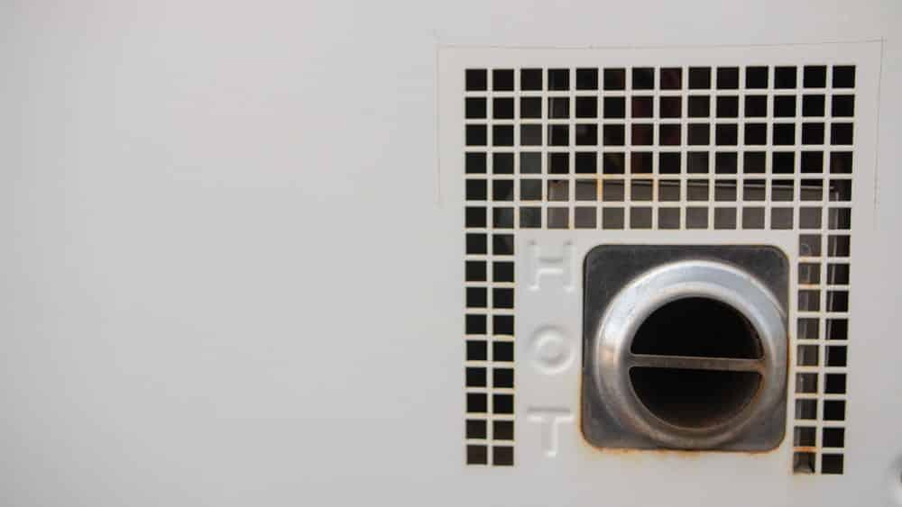 rv hot water heater relief valve leaking