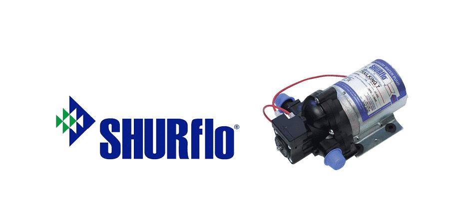 shurflo pump not pumping