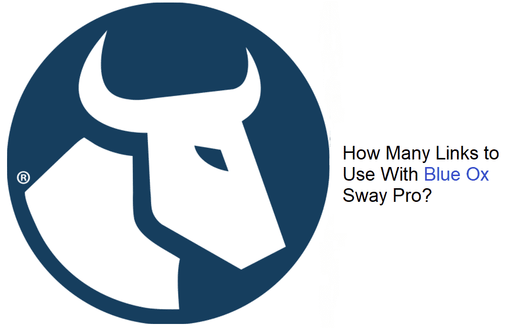 blue ox sway pro how many links