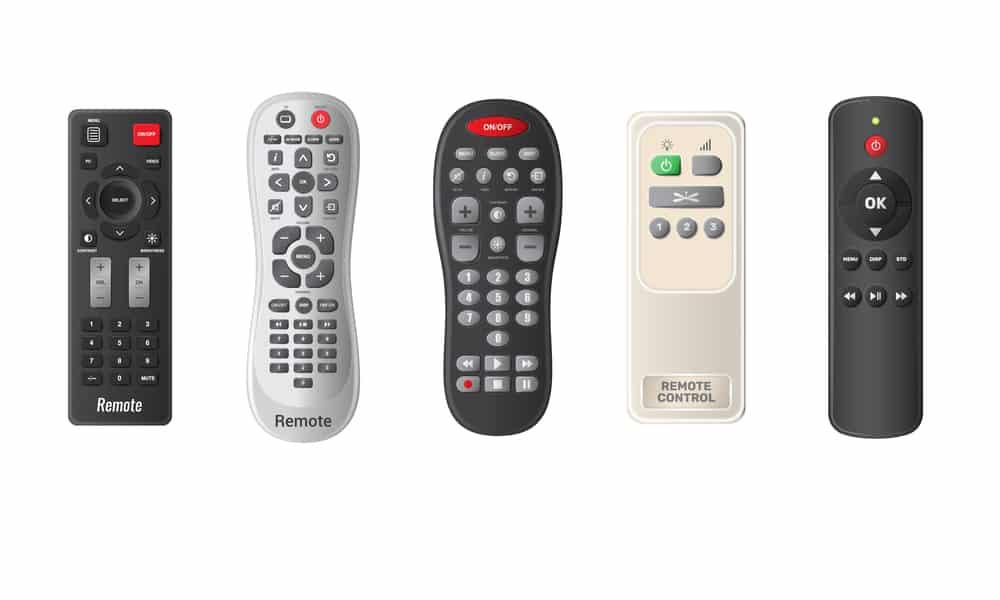 jensen tv remote not working