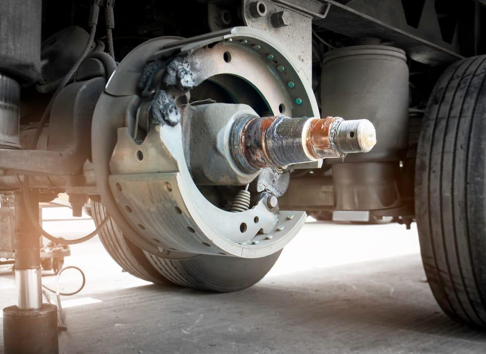 chevy p30 parking brake adjustment