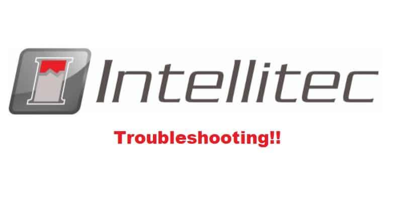 intellitec troubleshooting