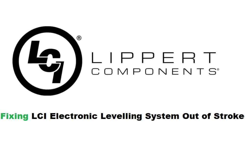 lci electronic leveling out of stroke